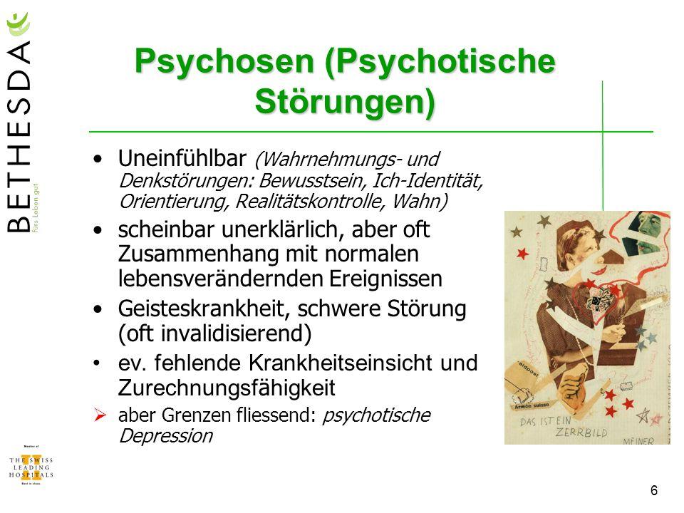 Psychosen (Psychotische Störungen)