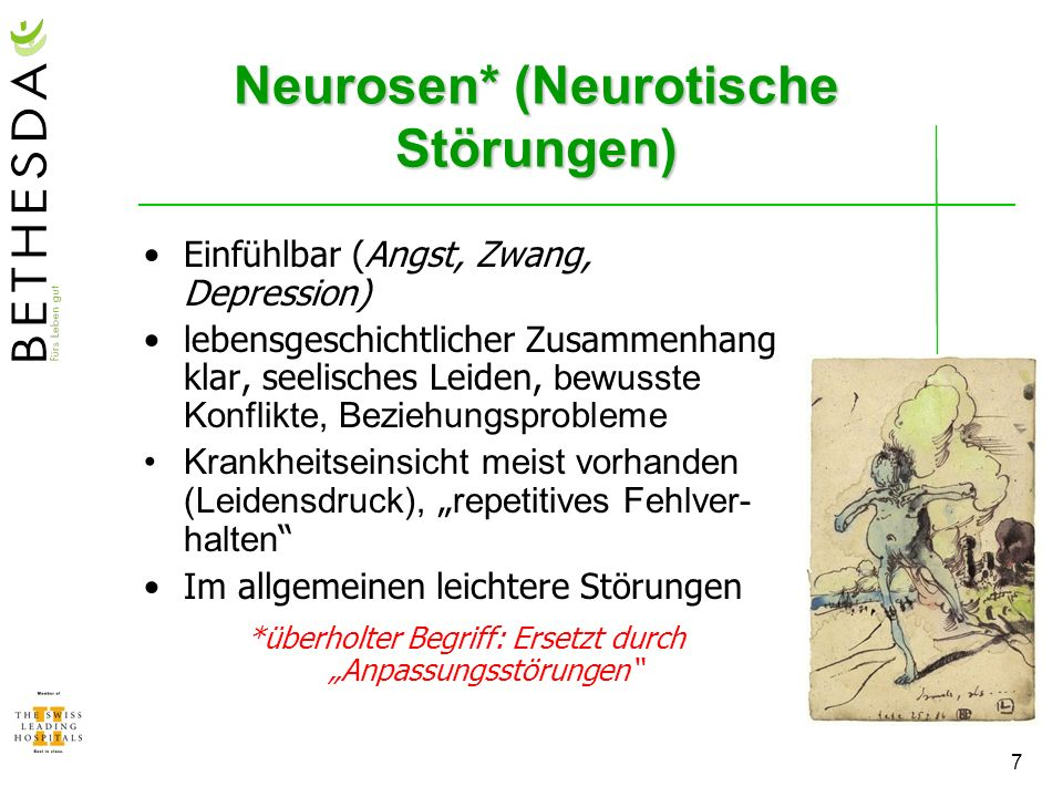 Neurosen* (Neurotische Störungen)