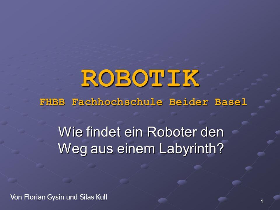 Wie findet ein Roboter den Weg aus einem Labyrinth