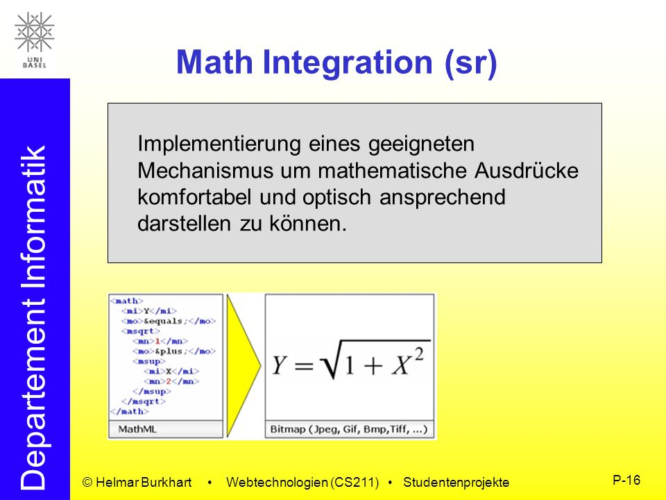 Math Integration (sr)