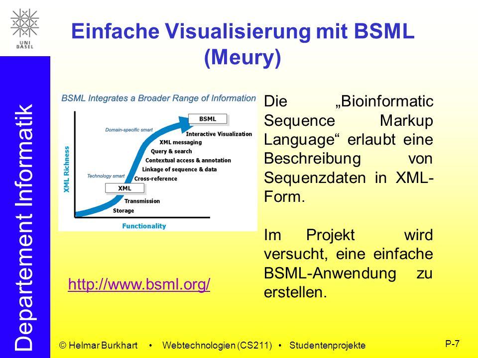 Einfache Visualisierung mit BSML (Meury)