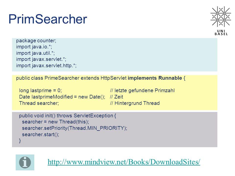 PrimSearcher http://www.mindview.net/Books/DownloadSites/