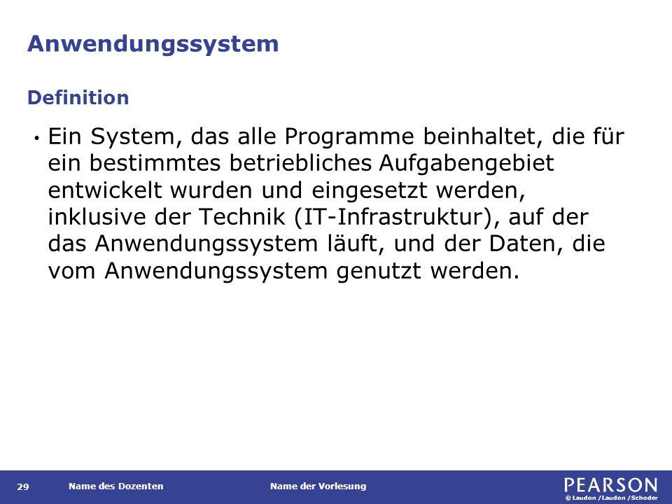 Informationssystem Definition.