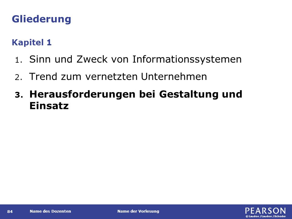 Investition in Informationssysteme: