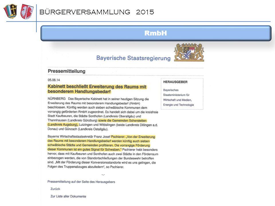 BÜRGERVERSAMMLUNG 2015 RmbH ^dsfgdfg
