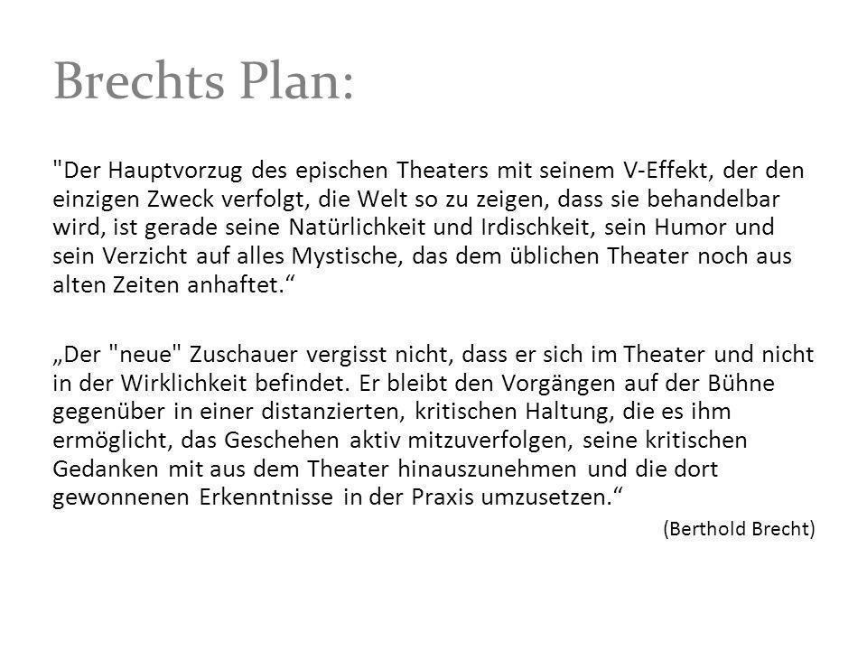 Brechts Plan: