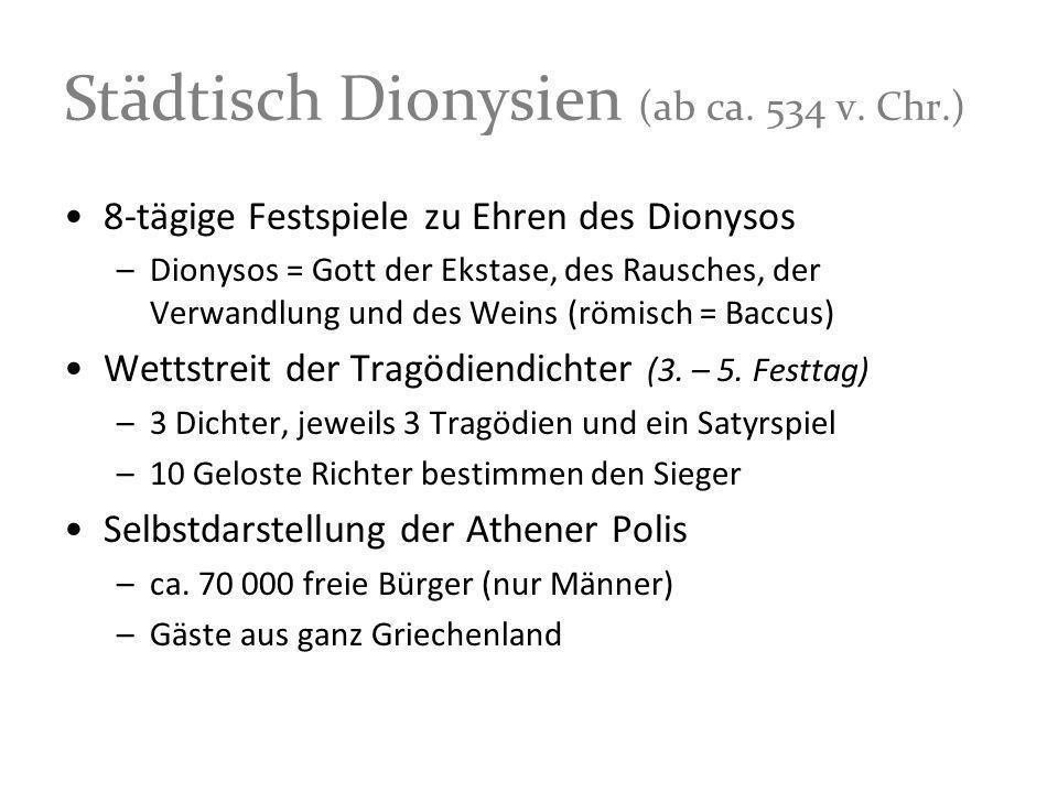 Städtisch Dionysien (ab ca. 534 v. Chr.)