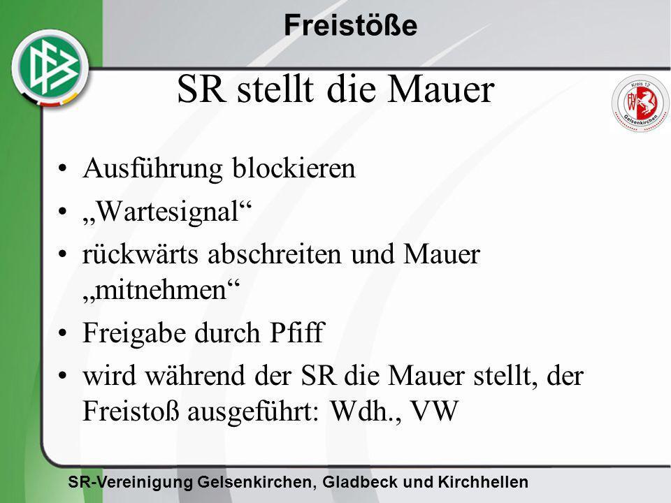 """SR stellt die Mauer Ausführung blockieren """"Wartesignal"""