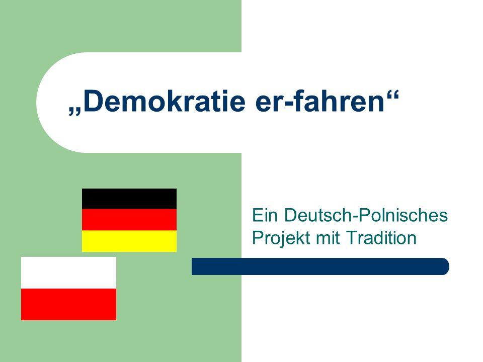 """""""Demokratie er-fahren"""