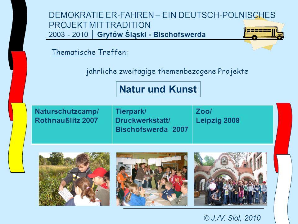 DEMOKRATIE ER-FAHREN – EIN DEUTSCH-POLNISCHES PROJEKT MIT TRADITION