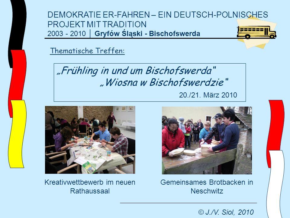 """""""Frühling in und um Bischofswerda """"Wiosna w Bischofswerdzie"""