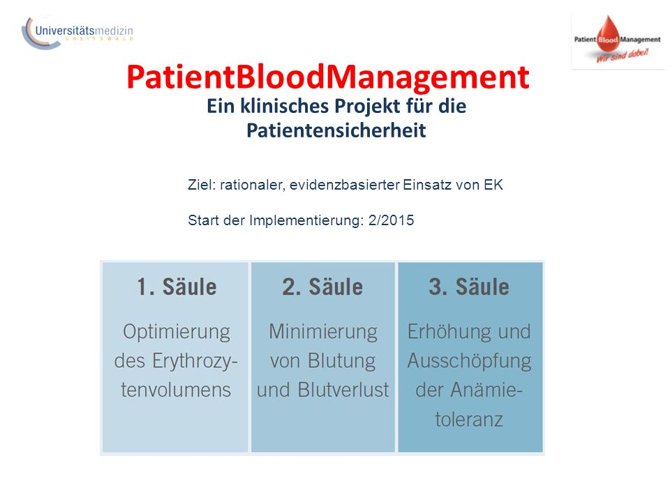 PatientBloodManagement