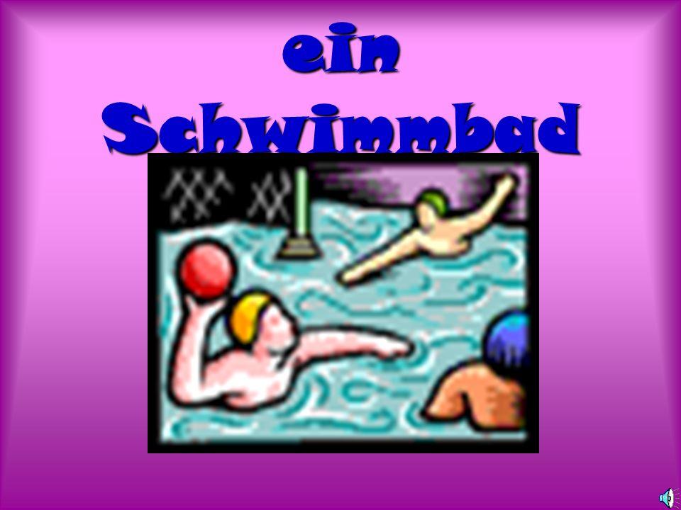 ein Schwimmbad