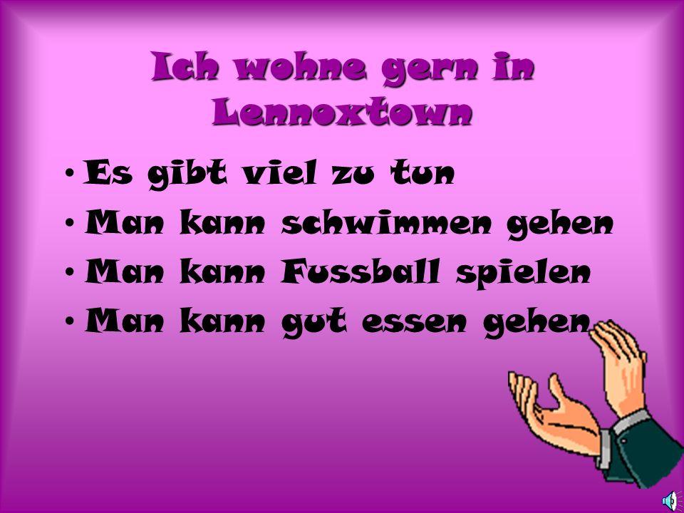Ich wohne gern in Lennoxtown