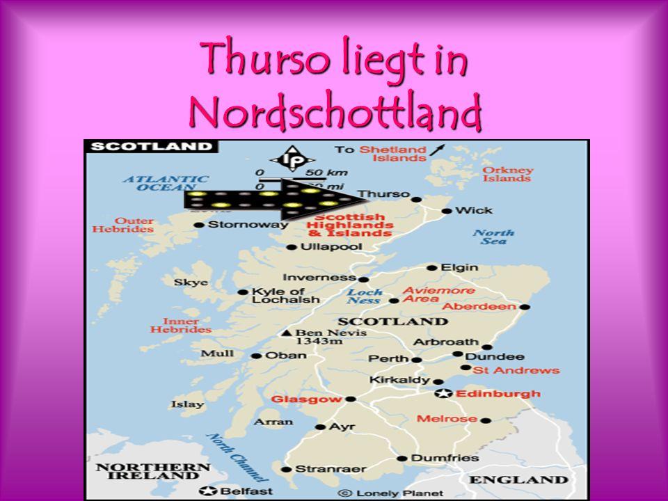 Thurso liegt in Nordschottland