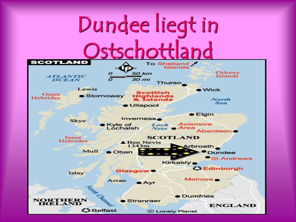 Dundee liegt in Ostschottland