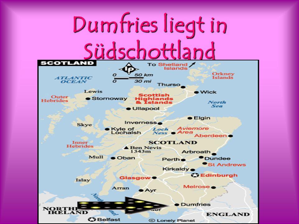Dumfries liegt in Südschottland
