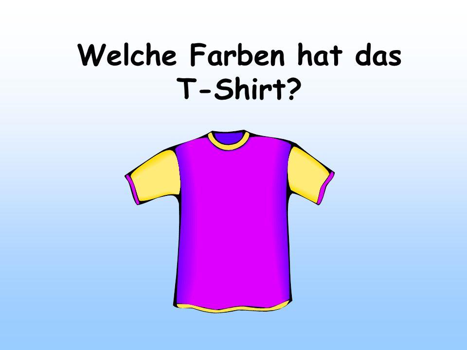 Welche Farben hat das T-Shirt