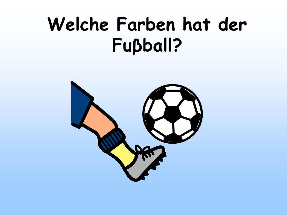 Welche Farben hat der Fuβball