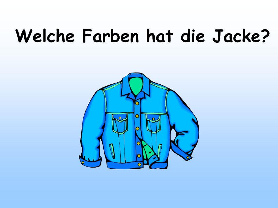 Welche Farben hat die Jacke