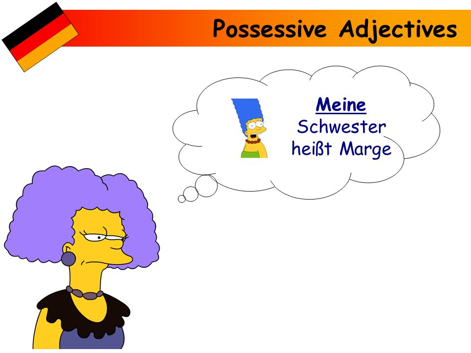 Meine Schwester heißt Marge