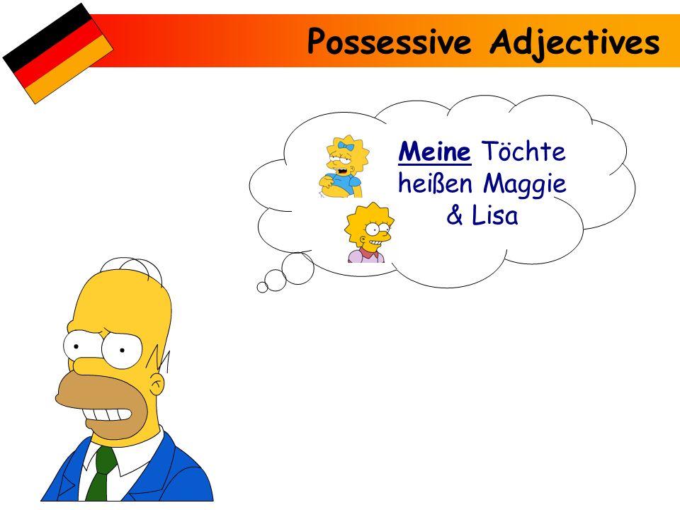 Meine Töchte heißen Maggie & Lisa