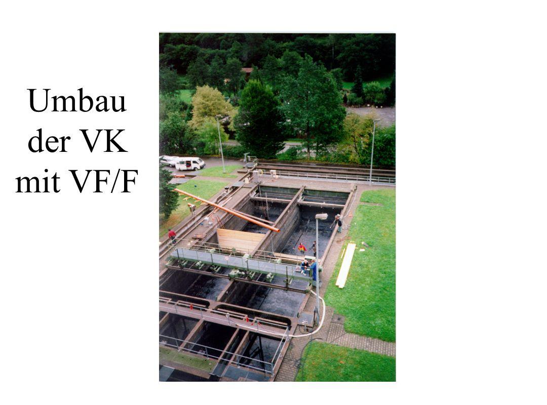 Umbau der VK mit VF/F