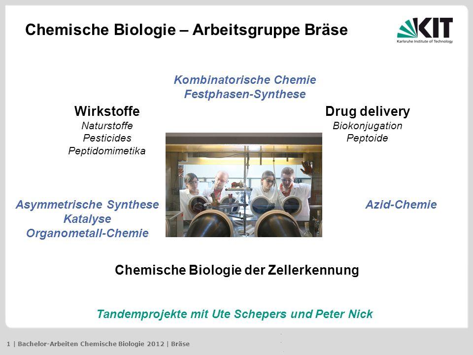 Chemische Biologie – Arbeitsgruppe Bräse