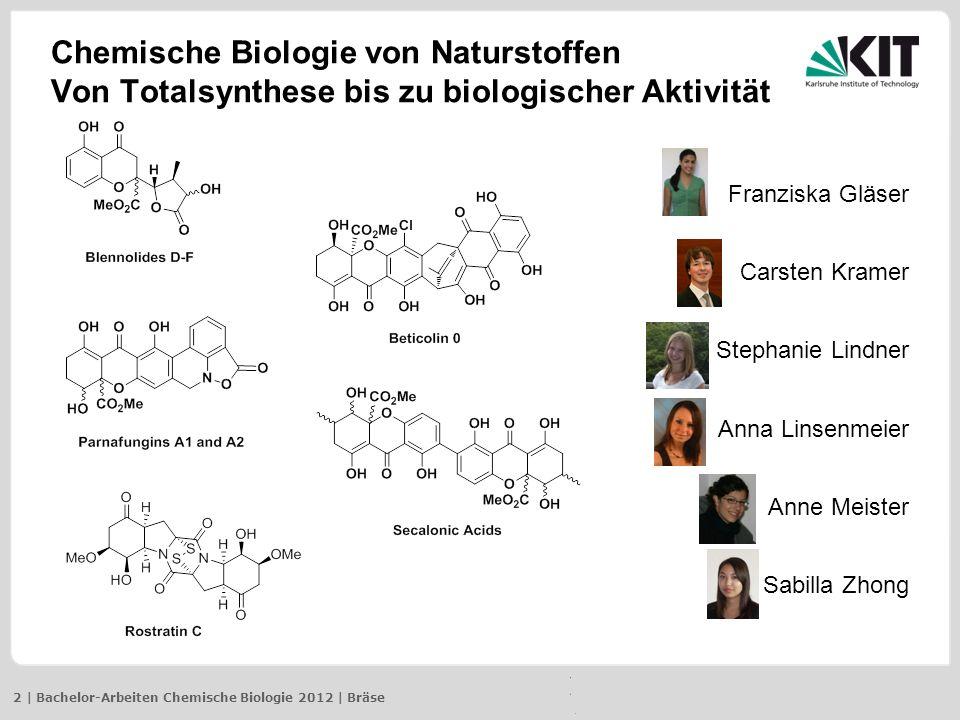 Chemische Biologie von Naturstoffen