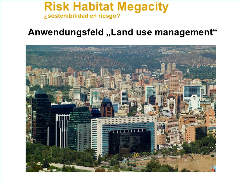 "Anwendungsfeld ""Land use management"