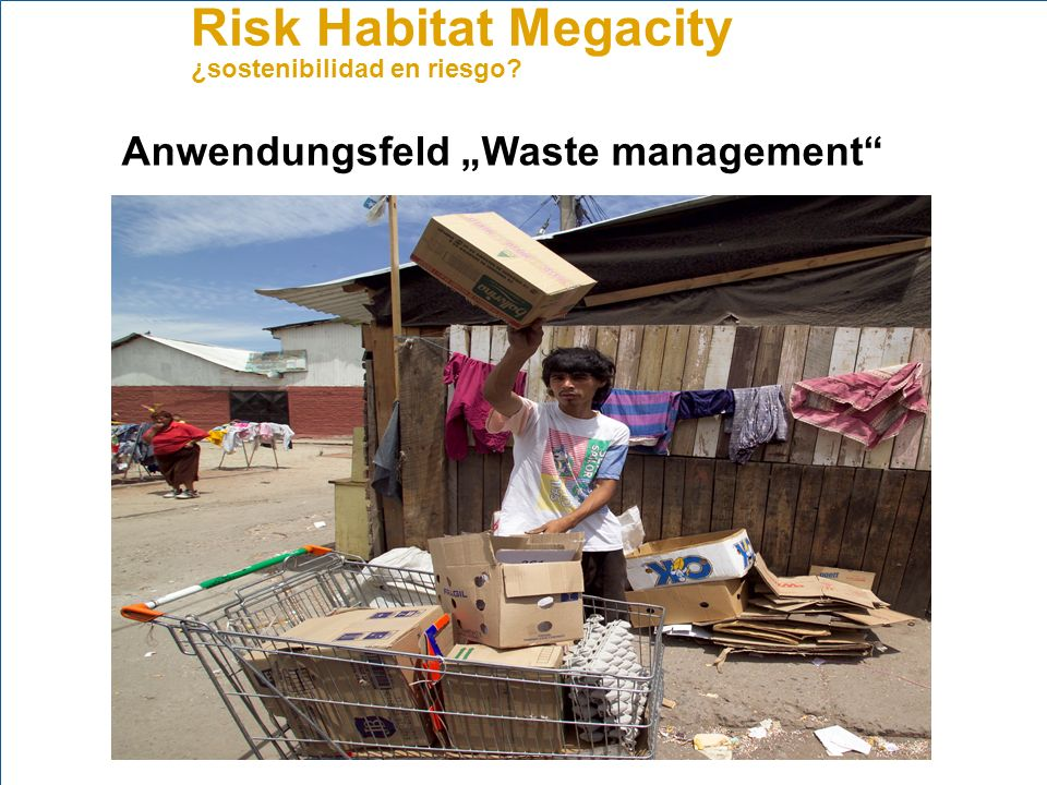 "Anwendungsfeld ""Waste management"