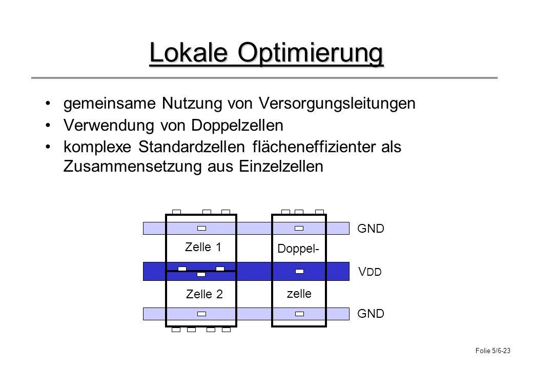 Lokale Optimierung gemeinsame Nutzung von Versorgungsleitungen