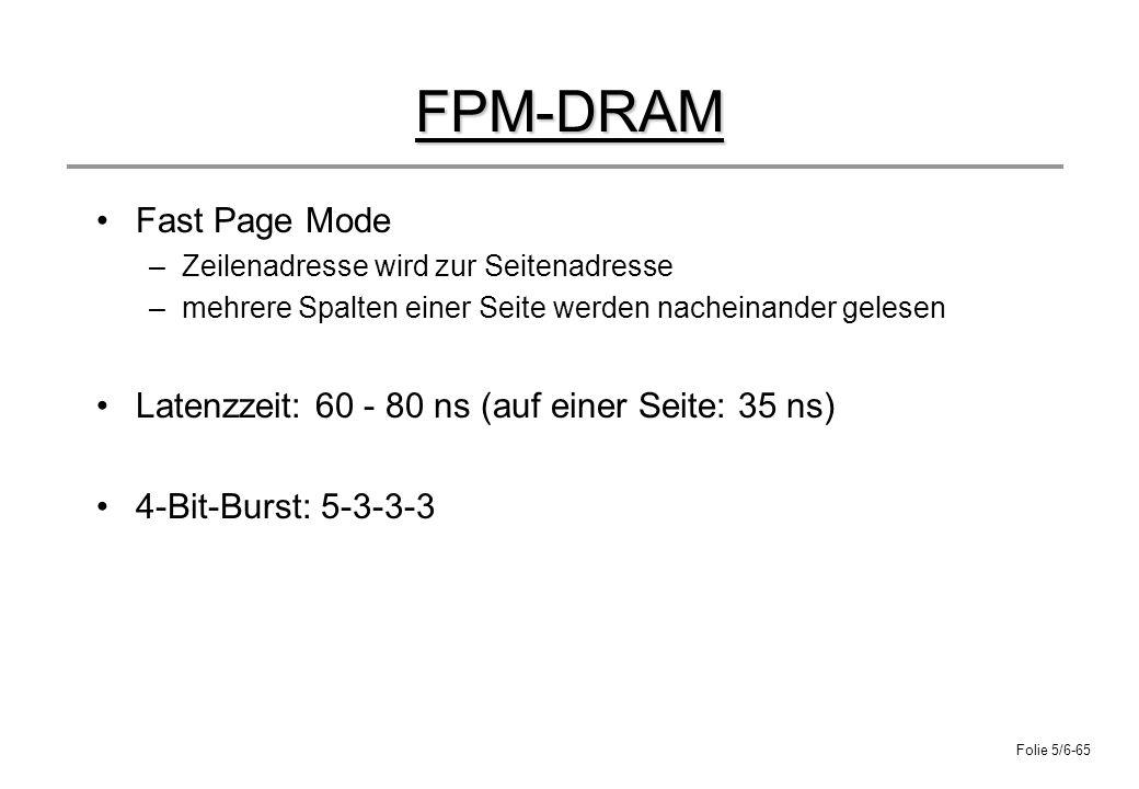 FPM-DRAM Fast Page Mode