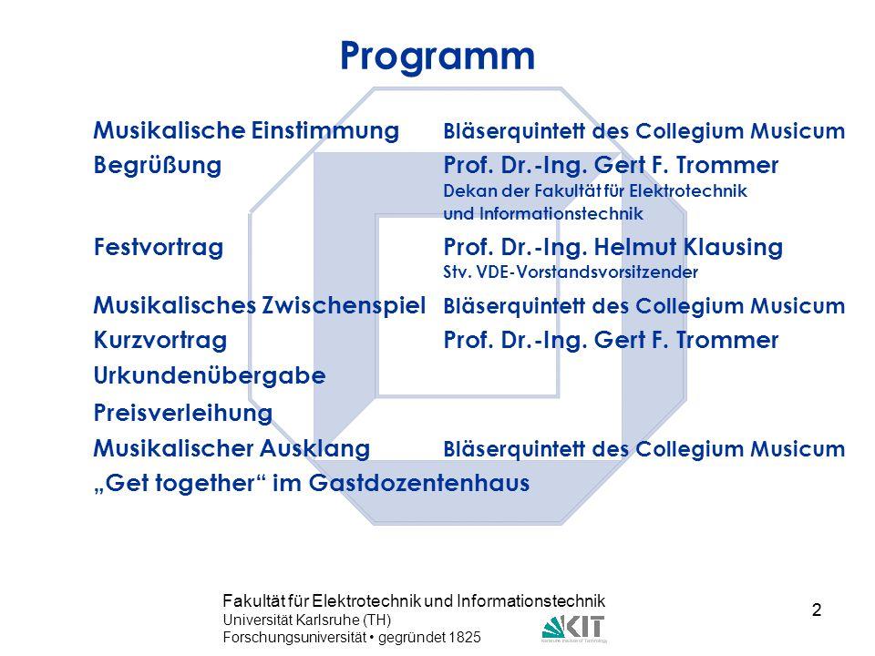 Programm Musikalische Einstimmung Bläserquintett des Collegium Musicum