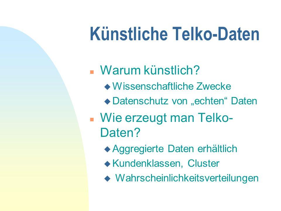 Künstliche Telko-Daten
