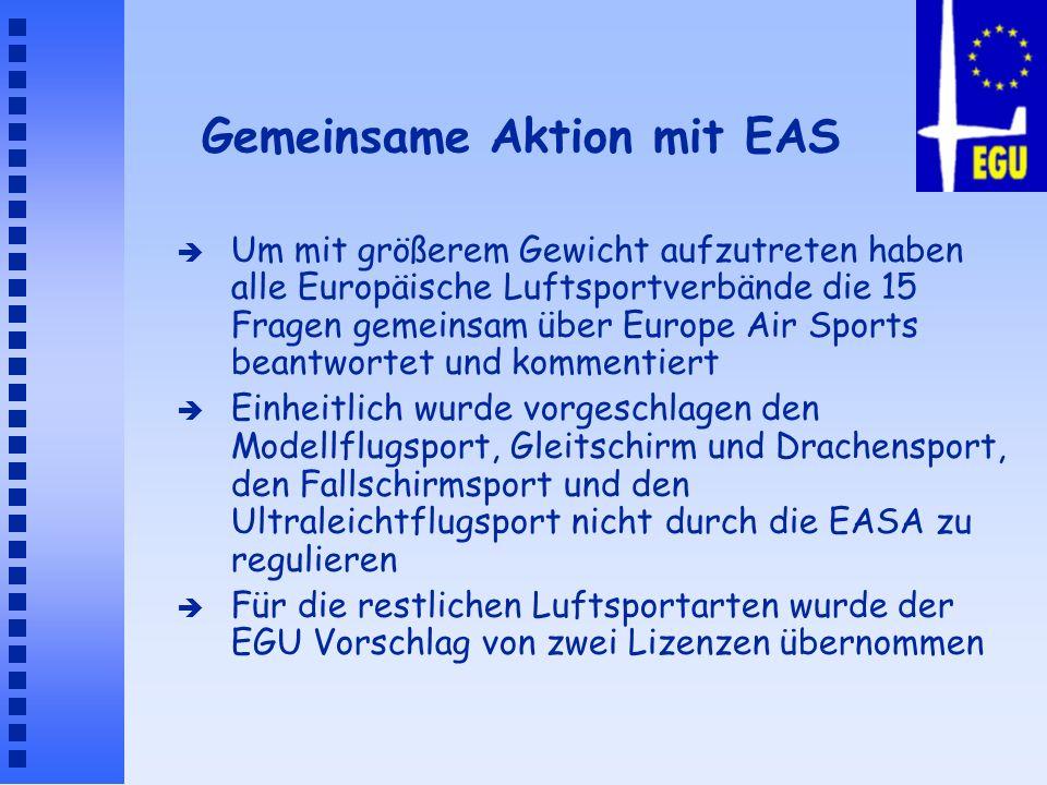 Gemeinsame Aktion mit EAS