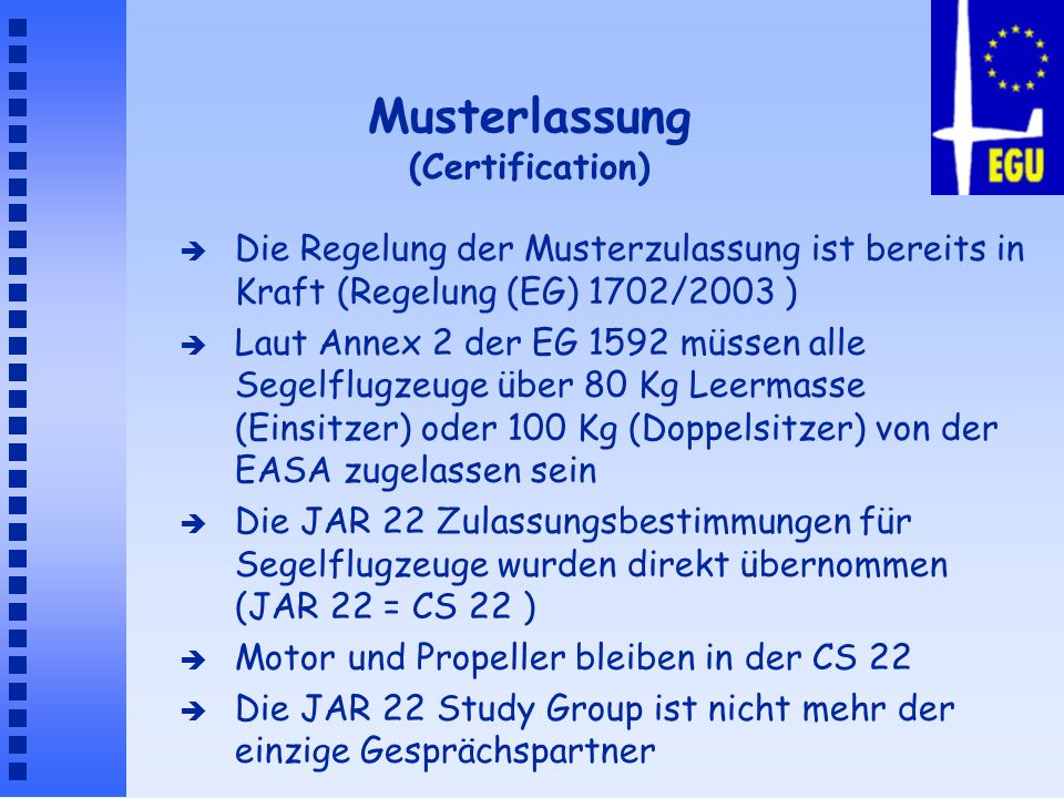 Musterlassung (Certification)