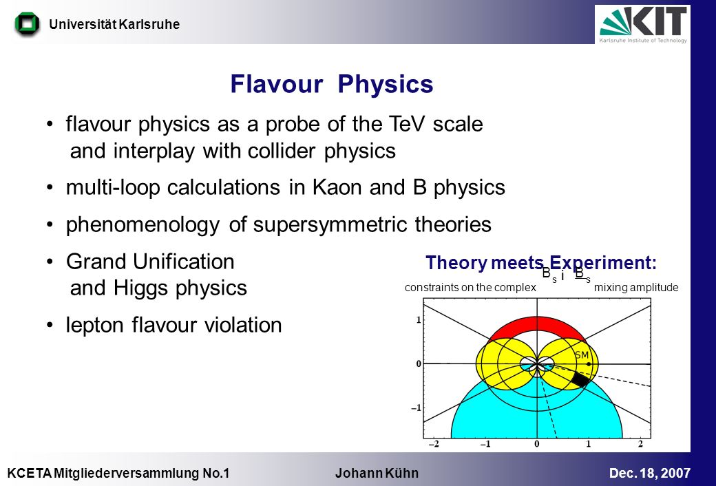 Flavour Physics flavour physics as a probe of the TeV scale