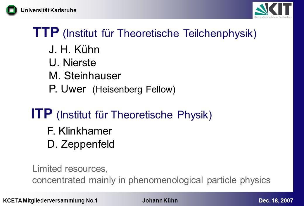 TTP (Institut für Theoretische Teilchenphysik)