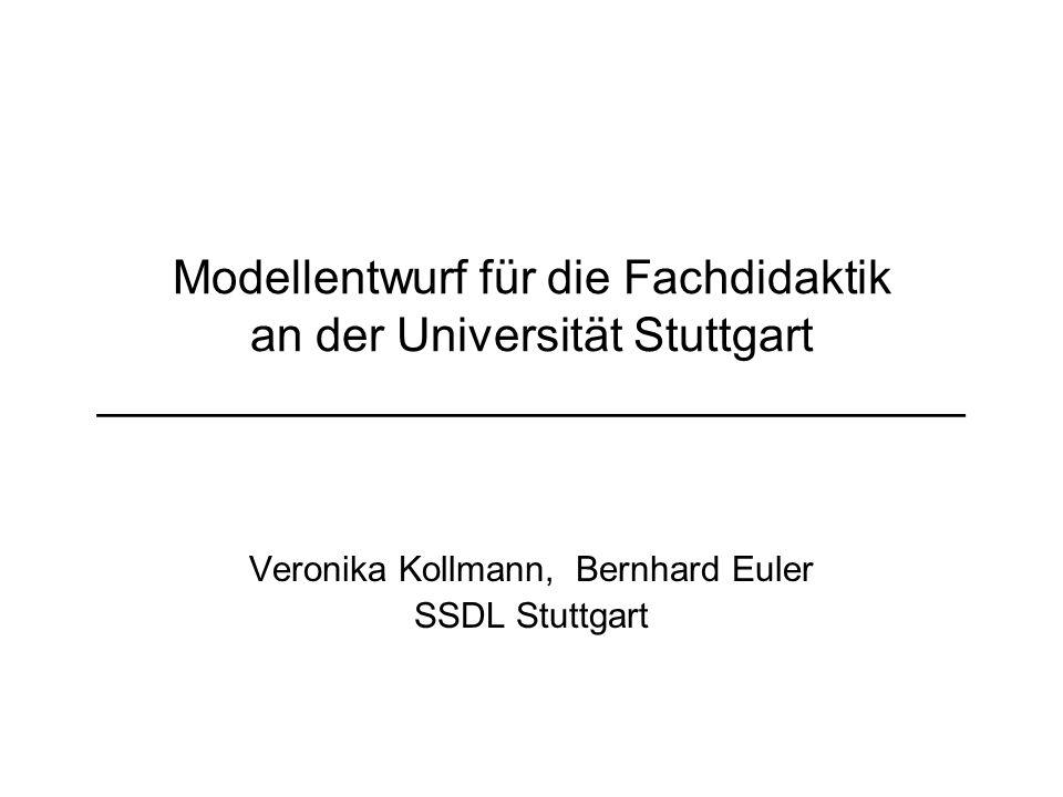 Veronika Kollmann, Bernhard Euler SSDL Stuttgart