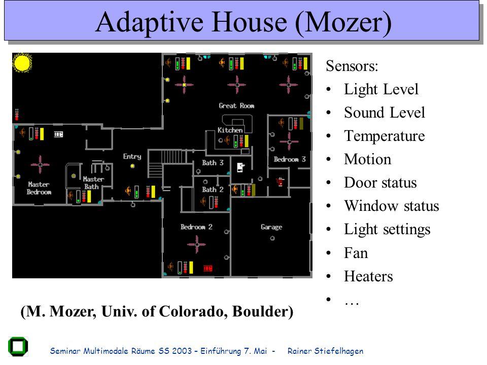 Adaptive House (Mozer)