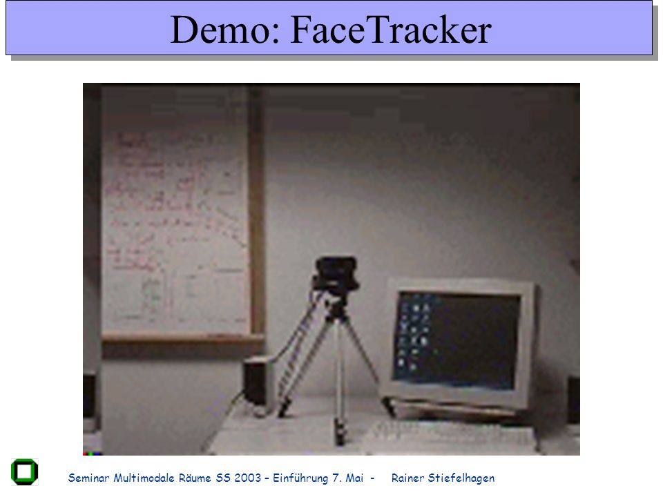 Demo: FaceTracker