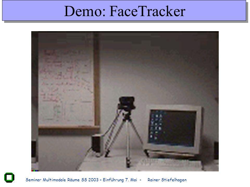 Demo: FaceTracker