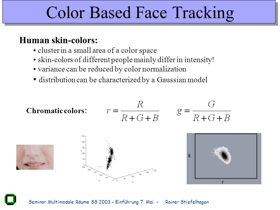Color Based Face Tracking