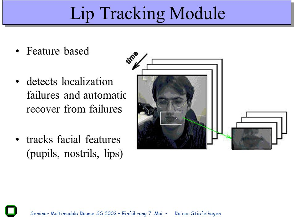 Lip Tracking Module Feature based
