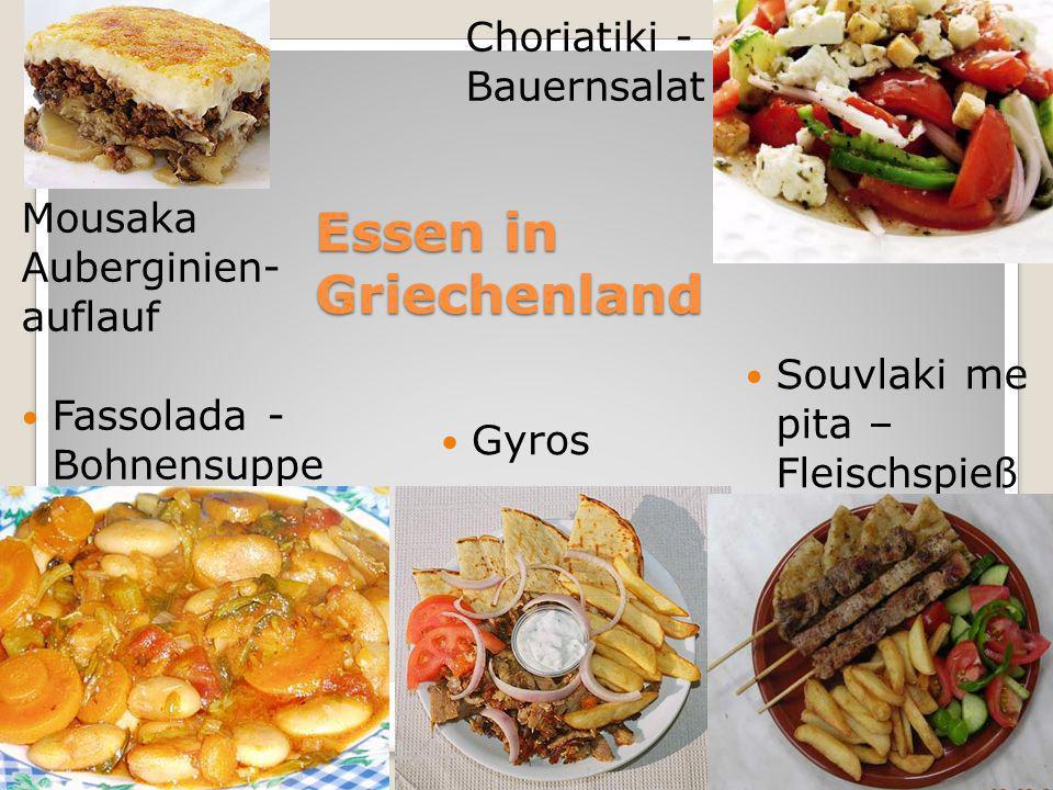 Essen in Griechenland Choriatiki - Bauernsalat