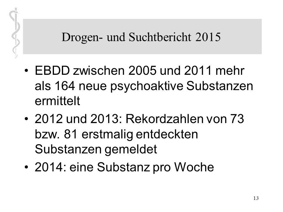Drogen- und Suchtbericht 2015