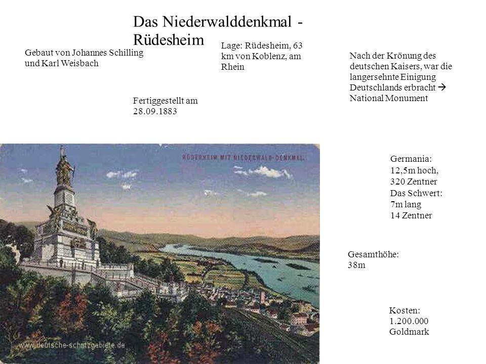Das Niederwalddenkmal - Rüdesheim