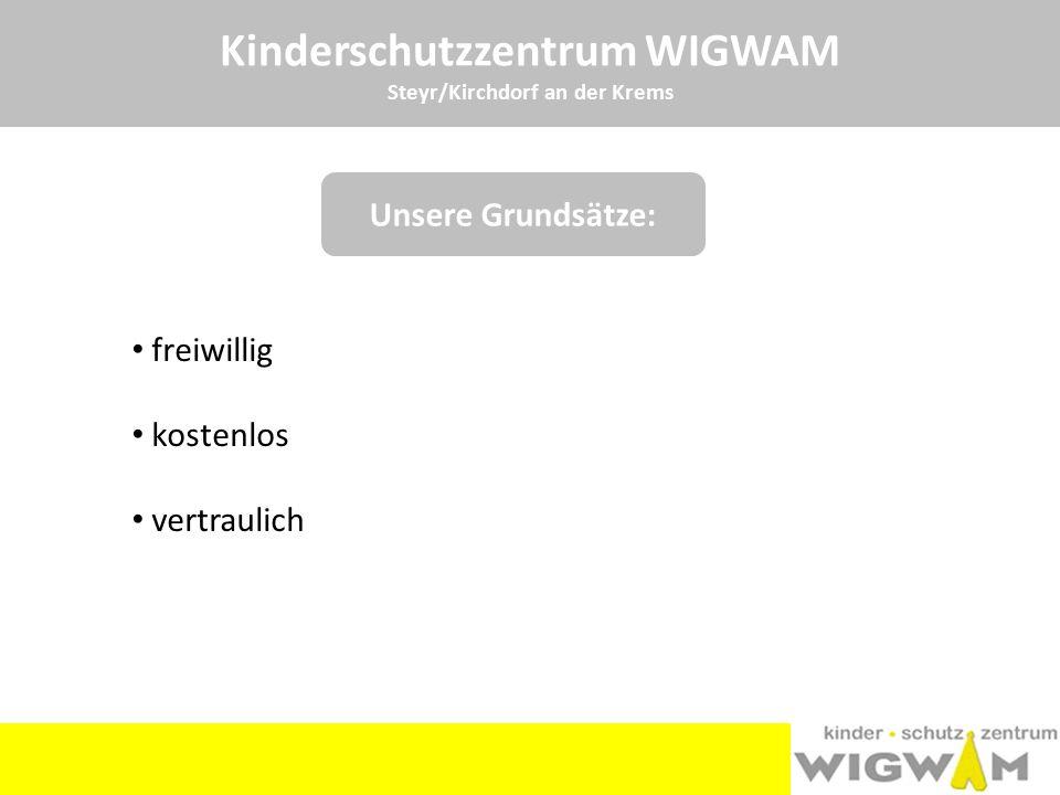 Kinderschutzzentrum WIGWAM Steyr/Kirchdorf an der Krems