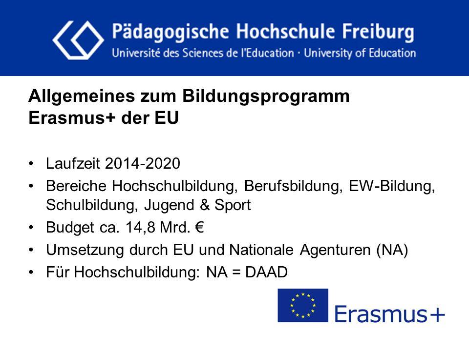 fdgfg Allgemeines zum Bildungsprogramm Erasmus+ der EU